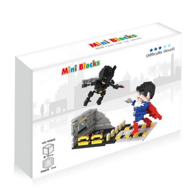 Anime Figure Style ABS Cartoon Building Brick - 671pcsBlock Toys<br>Anime Figure Style ABS Cartoon Building Brick - 671pcs<br><br>Completeness: Semi-finished Product<br>Gender: Unisex<br>Materials: ABS<br>Package Contents: 671 x Module, 1 x Operation Instruction<br>Package size: 24.00 x 17.00 x 5.00 cm / 9.45 x 6.69 x 1.97 inches<br>Package weight: 0.220 kg<br>Product size: 21.00 x 8.00 x 14.50 cm / 8.27 x 3.15 x 5.71 inches<br>Product weight: 0.190 kg<br>Stem From: Europe and America<br>Theme: Movie and TV
