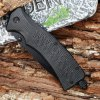 Stainless Steel Folding Serrated Survival Knife for sale