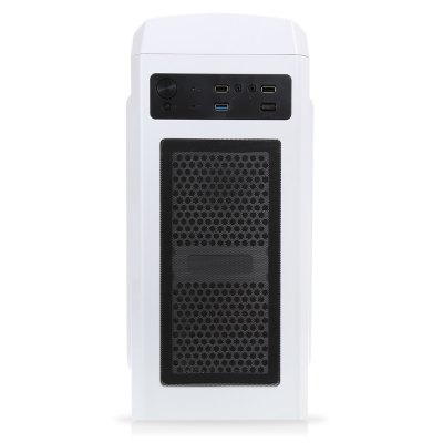 Assembly Computer Host Mid Tower Case PC Mainframe