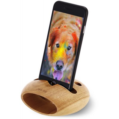Seenda Nature Wood Charging Stand Loudspeaker