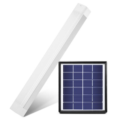 8W Solar Rechargeable LED Tube Light Charging / Discharging