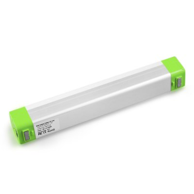 5W Solar Rechargeable LED Tube LightOutdoor Lights<br>5W Solar Rechargeable LED Tube Light<br><br>Powered source: Battery,Solar,USB<br>Light Type: Indoor Light,Outdoor Light,Solar Light<br>Color Temperature: 8000K<br>Luminous Flux: 600LM<br>Optional Light Color: Cool White<br>Features: Rechargeable<br>Available Color   : Blue,Green,White<br>Total LED: SMD 2835 LED<br>Rated Power (W): 5W<br>Solar Panel : 1.8W 6V polycrystalline silicone<br>Battery Voltage: 3.7V<br>Battery Capacity: 2600mAh<br>Charging time: 9h<br>Working Time: 6h<br>Material: ABS,Aluminum,PC<br>Product weight: 0.129 kg<br>Package weight: 0.440 kg<br>Product size (L x W x H): 22.00 x 3.10 x 3.10 cm / 8.66 x 1.22 x 1.22 inches<br>Package size (L x W x H): 28.00 x 15.00 x 7.00 cm / 11.02 x 5.91 x 2.76 inches<br>Package Contents: 1 x LED Light, 1 x Solar Panel ( 3m Wire ), 1 x USB Cable, 2 x Lanyard, 1 x English Manual