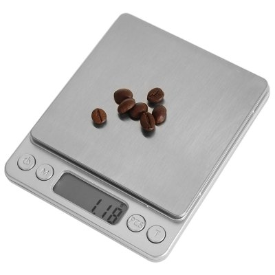 M - 8008 Precise 500g Digital Jewelry ScaleDigital Scales<br>M - 8008 Precise 500g Digital Jewelry Scale<br><br>Material             : Others, ABS<br>Model: M - 8008<br>Package Contents: 1 x Digital Jewelry Scale, 2 x Tray, 1 x English and Chinese User Manual<br>Package size (L x W x H): 16.80 x 14.00 x 4.00 cm / 6.61 x 5.51 x 1.57 inches<br>Package weight: 0.320 kg<br>Product size (L x W x H): 12.70 x 10.50 x 1.50 cm / 5 x 4.13 x 0.59 inches<br>Product weight: 0.189 kg<br>Type: Jewelry Scale, Digital Scale
