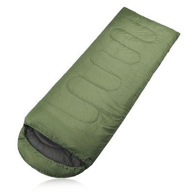 Envelope Style 1-person Polyester Taffeta Sleeping Bag