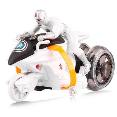 Infrared Remote Control Anime Figure Motorcycle Model