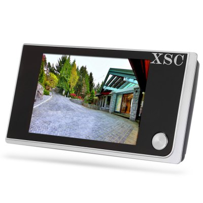 XSC - 250A 2.0MP Digital Door Viewer CameraAccess Control<br>XSC - 250A 2.0MP Digital Door Viewer Camera<br><br>Brand: XSC<br>Display: 3.5 inch LCD screen<br>Feature: IP camera<br>Model: 250A<br>Package Contents: 1xIndoor Monitor, 1xOutdoor Camera, 3xPair of Screws, 1xEnglish / Chinese User Manual<br>Package size (L x W x H): 15.00 x 20.20 x 5.60 cm / 5.91 x 7.95 x 2.2 inches<br>Package weight: 0.209 kg<br>Product size (L x W x H): 12.00 x 6.30 x 1.80 cm / 4.72 x 2.48 x 0.71 inches<br>Product weight: 0.120 kg<br>Type ( Access Control ): Access Control Systems