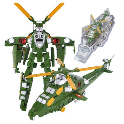 Transform 3D Robot Fighter Puzzle