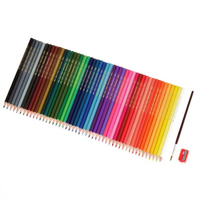 48PCS Water Color Pencil Drawing Pen