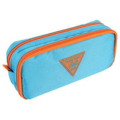 Deli Contracted Grid Style Pen Pouch