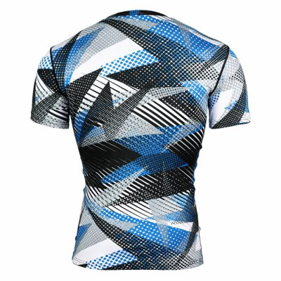 Camo Fitness Compress T-shirtWeight Lifting Clothes<br>Camo Fitness Compress T-shirt<br><br>Features: Breathable, High elasticity, Quick Dry<br>Gender: Men<br>Material: Polyester<br>Package Content: 1 x T-shirt<br>Package size: 38.00 x 28.00 x 2.00 cm / 14.96 x 11.02 x 0.79 inches<br>Package weight: 0.200 kg<br>Product weight: 0.140 kg<br>Size: 2XL,3XL,L,M,S,XL<br>Types: Short Sleeves