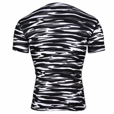 Black And White Camouflage T Shirt MensWeight Lifting Clothes<br>Black And White Camouflage T Shirt Mens<br><br>Features: Breathable, High elasticity, Quick Dry<br>Gender: Men<br>Material: Polyester<br>Package Content: 1 x T-shirt<br>Package size: 38.00 x 28.00 x 2.00 cm / 14.96 x 11.02 x 0.79 inches<br>Package weight: 0.200 kg<br>Product weight: 0.140 kg<br>Size: 2XL,3XL,L,M,S,XL<br>Types: Short Sleeves