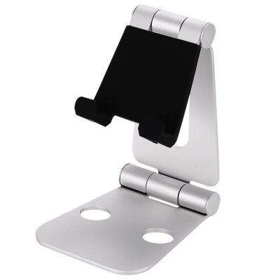 Seenda Foldable Phone StandStands &amp; Holders<br>Seenda Foldable Phone Stand<br><br>Brand: Seenda<br>Color: Silver<br>Features: Foldable, Anti-skid panel, Adjustable Stand<br>Material: Aluminum Alloys<br>Package Contents: 1 x Phone Stand<br>Package size (L x W x H): 14.30 x 9.90 x 3.80 cm / 5.63 x 3.9 x 1.5 inches<br>Package weight: 0.256 kg<br>Product size (L x W x H): 12.90 x 8.40 x 2.80 cm / 5.08 x 3.31 x 1.1 inches<br>Product weight: 0.201 kg<br>Type: Mobile Holder, Desktop