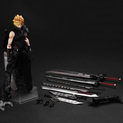10.63 inch Action Figure ABS + PVC ModelMovies &amp; TV Action Figures<br>10.63 inch Action Figure ABS + PVC Model<br><br>Completeness: Finished Goods<br>Gender: Unisex<br>Materials: ABS, PVC<br>Package Contents: 1 x Action Figure, 1 x Accessory Set<br>Package size: 30.00 x 6.00 x 30.00 cm / 11.81 x 2.36 x 11.81 inches<br>Package weight: 0.955 kg<br>Product size: 8.00 x 5.00 x 27.00 cm / 3.15 x 1.97 x 10.63 inches<br>Product weight: 0.500 kg<br>Stem From: Japan<br>Theme: Movie and TV