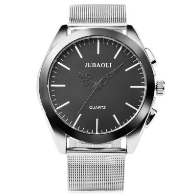 JUBAOLI 1174 Business Men Quartz WatchMens Watches<br>JUBAOLI 1174 Business Men Quartz Watch<br><br>Available Color: Black,White<br>Band material: Steel<br>Band size: 24.5 x 2.1 cm / 9.65 x 0.83 inches<br>Brand: Jubaoli<br>Case material: Alloy<br>Clasp type: Pin buckle<br>Dial size: 4.3 x 4.3 x 1.2 cm / 1.69 x 1.69 x 0.47 inches<br>Display type: Analog<br>Movement type: Quartz watch<br>Package Contents: 1 x JUBAOLI 1174 Business Men Quartz Watch, 1 x Box<br>Package size (L x W x H): 8.50 x 8.00 x 5.30 cm / 3.35 x 3.15 x 2.09 inches<br>Package weight: 0.142 kg<br>Product size (L x W x H): 24.50 x 4.30 x 1.20 cm / 9.65 x 1.69 x 0.47 inches<br>Product weight: 0.077 kg<br>Shape of the dial: Round<br>Watch style: Business<br>Watches categories: Male table<br>Water resistance : Life water resistant<br>Wearable length: 18 - 22.5 cm / 7.09 - 8.86 inches