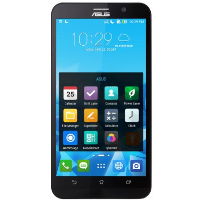 ASUS ZenFone 2 ( ZE551ML ) 4G PhabletCell phones<br>ASUS ZenFone 2 ( ZE551ML ) 4G Phablet<br><br>2G: GSM 850/900/1800/1900MHz<br>3G: WCDMA 850/900/1900/2100MHz<br>4G: FDD-LTE 1800/2100MHz<br>Additional Features: Bluetooth, FM, 4G, Wi-Fi, Video Call, Browser, E-book, Sound Recorder, People, GPS, MP4, MP3, MP3, 3G, E-book, FM, GPS, MP4, People, Sound Recorder, Video Call, Wi-Fi, Browser, Bluetooth, 3G, 4G<br>Back-camera: 13.0MP (Dual flashlight)<br>Battery Capacity (mAh): 3000mAh Built-in , 3000mAh Built-in<br>Brand: ASUS<br>Camera type: Dual cameras (one front one back)<br>Cell Phone: 1, 1<br>Cores: Quad Core, 1.8GHz<br>CPU: Intel Z3560<br>E-book format: PDF, TXT, TXT, PDF<br>External Memory: TF card up to 64GB (not included)<br>Front camera: 5.0MP<br>GPU: PowerVR G6430<br>I/O Interface: 3.5mm Audio Out Port, 2 x Micro SIM Card Slot, 2 x Micro SIM Card Slot, 3.5mm Audio Out Port<br>Language: Multi language<br>Live wallpaper support: Yes, Yes<br>MS Office format: Excel, Word, PPT, PPT, Excel, Word<br>Music format: MP3, AAC, MP3, WAV, WAV<br>Network type: GSM+WCDMA+LTE-FDD<br>OS: Android 5.0<br>Package size: 17.30 x 9.60 x 7.00 cm / 6.81 x 3.78 x 2.76 inches, 17.30 x 9.60 x 7.00 cm / 6.81 x 3.78 x 2.76 inches<br>Package weight: 0.3900 kg, 0.3900 kg<br>Picture format: JPEG, PNG, GIF, BMP<br>Power Adapter: 1, 1<br>Product size: 15.25 x 7.72 x 1.09 cm / 6 x 3.04 x 0.43 inches, 15.25 x 7.72 x 1.09 cm / 6 x 3.04 x 0.43 inches<br>Product weight: 0.1760 kg, 0.1760 kg<br>Radio/Modem: Intel 7262 + Intel 2230<br>RAM: 4GB RAM<br>ROM: 16GB<br>Screen resolution: 1920 x 1080 (FHD)<br>Screen size: 5.5 inch<br>Screen type: Capacitive<br>Sensor: Gesture Sensor,Gravity Sensor,Proximity Sensor, Gesture Sensor,Gravity Sensor,Proximity Sensor<br>Service Provider: Unlocked<br>SIM Card Slot: Dual Standby, Dual SIM<br>SIM Card Type: Dual Micro SIM Card<br>TDD/TD-LTE: TD-LTE B38/B39/B40/41<br>Type: 4G Phablet<br>USB Cable: 1, 1<br>Video format: MP4, 3GP, MP4, 3GP<br>WIFI: 802.11b/g/n wireless 