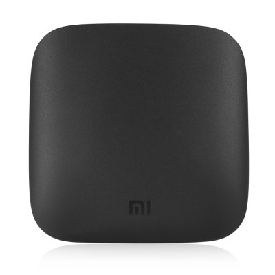 Original Xiaomi Mi 3S TV Box Amlogic S905X Quad CoreTV Box<br>Original Xiaomi Mi 3S TV Box Amlogic S905X Quad Core<br><br>5G WiFi: Yes<br>Audio format: RM, APE<br>Bluetooth: Bluetooth 4.1 + EDR<br>Brand: Xiaomi<br>Color: Black<br>Core: 2.0GHz, Quad Core<br>CPU: Amlogic S905X<br>Decoder Format: H.265, H.264, H.263<br>DVD Support: No<br>External Subtitle Supported: No<br>GPU: Mali-450<br>HDMI Function: CEC<br>HDMI Version: 2.0<br>Interface: HDMI, AV, USB2.0, DC Power Port<br>Language: Simplified Chinese<br>Maximum External Hard Drives Capacity: No<br>Model: 3S<br>Other Functions: Others<br>Package Contents: 1 x Original Xiaomi Mi 3S TV Box, 1 x MiTouch IR Touch Remote Control, 1 x HDMI Cable, 1 x Power Adapter, 1 x Chinese Manual<br>Package size (L x W x H): 11.10 x 11.10 x 2.95 cm / 4.37 x 4.37 x 1.16 inches<br>Package weight: 0.5500 kg<br>Power Adapter Input: 100-240V / 50-60Hz<br>Power Consumption.: 5.2V / 2.1A<br>Power Supply: Charge Adapter<br>Power Type: External Power Adapter Mode<br>Product size (L x W x H): 10.10 x 10.10 x 1.95 cm / 3.98 x 3.98 x 0.77 inches<br>Product weight: 0.1760 kg<br>RAM: 2G RAM<br>RAM Type: DDR3<br>Remote Controller Battery: 2 x AAA Battery (  not included )<br>RJ45 Port Speed: No<br>ROM: 8G ROM<br>Support 5.1 Surround Sound Output: No<br>System: Android 6.0<br>System Bit: 64Bit<br>Type: TV Box<br>Video format: 4K<br>WIFI: 802.11 a/b/g/n/ac<br>WiFi Chip: No