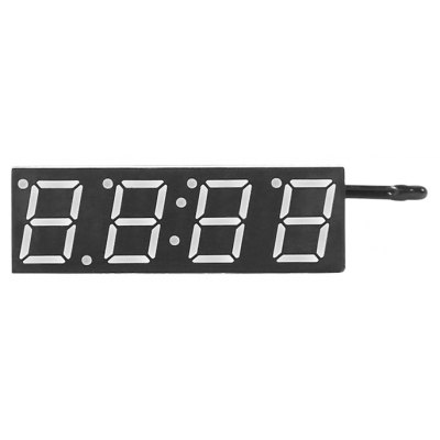 3 in 1 Electronic Time + Temperature + Voltage Display Module