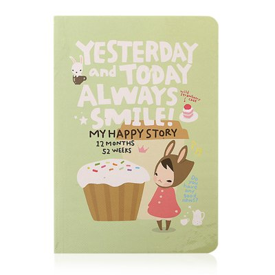 Cute Note Book Notebook Diary Stationery