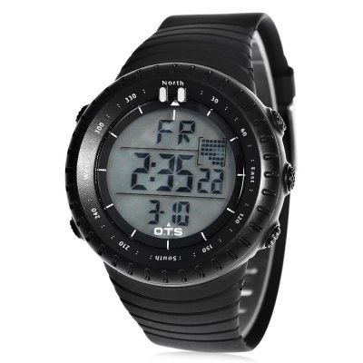 OTS T7005G Men Sports LED Watch