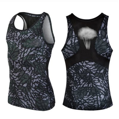 Camo Print Tight Fit Mesh VestWeight Lifting Clothes<br>Camo Print Tight Fit Mesh Vest<br><br>Color: Black,Blue,Camouflage<br>Features: Breathable, High elasticity, Quick Dry<br>Gender: Men<br>Material: Spandex<br>Package Content: 1 x Vest<br>Package size: 35.00 x 30.00 x 1.00 cm / 13.78 x 11.81 x 0.39 inches<br>Package weight: 0.160 kg<br>Product weight: 0.120 kg<br>Size: 2XL,3XL,L,M,XL<br>Types: Hoodies and Vest