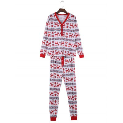 Christmas Gift Floral Animal Print Parents-child Pajamas SuitPajamas<br>Christmas Gift Floral Animal Print Parents-child Pajamas Suit<br><br>Material: Polyester<br>Package Contents: 1 x Long Sleeves T-shirt, 1 x Pair of Pants<br>Package size: 32.00 x 15.00 x 6.00 cm / 12.6 x 5.91 x 2.36 inches<br>Package weight: 0.405 kg<br>Product weight: 0.368 kg