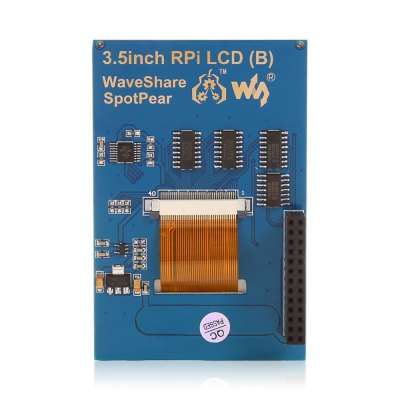 Waveshare LCD Display ModuleLCD,LED Display Module<br>Waveshare LCD Display Module<br><br>Brand: Waveshare<br>Package Contents: 1 x Waveshare 3.5 inch IPS Screen Display Module, 1 x Touch Pen, 1 x Screw Pack, 1 x DVD<br>Package Size(L x W x H): 16.00 x 14.00 x 5.00 cm / 6.3 x 5.51 x 1.97 inches<br>Package weight: 0.130 kg<br>Product Size(L x W x H): 8.50 x 5.50 x 2.00 cm / 3.35 x 2.17 x 0.79 inches<br>Product weight: 0.048 kg<br>Screen type: Led Display<br>Type: 3.5 inch IPS Screen Display Module