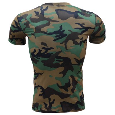 Military Camo Print Tight T-shirt Westminster объявления б.у