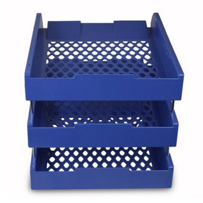 Document Tray File Storage BoxDesk Organizers<br>Document Tray File Storage Box<br><br>Features: 3 layers<br>Product weight: 0.500 kg<br>Package weight: 0.636 kg<br>Product size (L x W x H): 33.00 x 26.00 x 24.00 cm / 12.99 x 10.24 x 9.45 inches<br>Package size (L x W x H): 34.00 x 27.00 x 25.00 cm / 13.39 x 10.63 x 9.84 inches<br>Package Contents: 1 x Document Tray