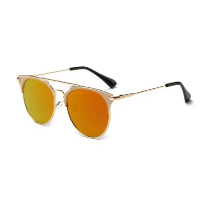 2110 UV-resistant Stylish Sunglasses Goggle with PC Lens