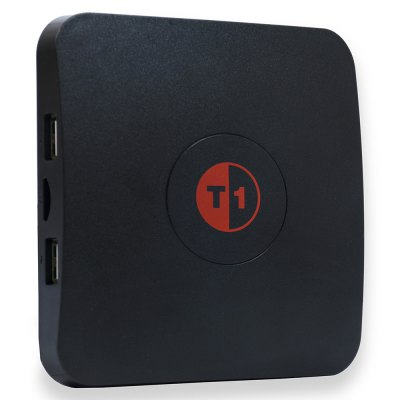 CAIDAO T1 TV Streaming BoxTV Box &amp; Mini PC<br>CAIDAO T1 TV Streaming Box<br><br>5G WiFi: No<br>Antenna: No<br>Audio format: WMA, WAV, RM, TrueHD, AAC, AC3, DDP, MP3, FLAC, DTS, OGG<br>Bluetooth: Unsupport<br>Camera: Without<br>Core: Quad Core<br>CPU: Amlogic S905X<br>Decoder Format: H.263, H.265, H.264, HD MPEG4<br>DVD Support: No<br>External Subtitle Supported: No<br>GPU: Mali-450<br>HDMI Function: CEC<br>HDMI Version: 2.0<br>Interface: RJ45, USB2.0, 3.5mm Audio, DC Power Port, Micro SD Card Slot, HDMI<br>Language: Multi-language<br>Max. Extended Capacity: 32G<br>Model: T1<br>Other Functions: Miracast, DLNA<br>Package Contents: 1 x CAIDAO T1 TV Box, 1 x IR Remote Control, 1 x HDMI Cable, 1 x Power Adapter, 1 x English Manual<br>Package size (L x W x H): 20.00 x 13.00 x 6.00 cm / 7.87 x 5.12 x 2.36 inches<br>Package weight: 0.520 kg<br>Photo Format: GIF, TIFF, PNG, JPG, JPEG, BMP<br>Power Adapter Output: 5V 2A<br>Power Comsumption: 5W<br>Power Supply: Charge Adapter<br>Power Type: External Power Adapter Mode<br>Product size (L x W x H): 10.90 x 10.90 x 2.00 cm / 4.29 x 4.29 x 0.79 inches<br>Product weight: 0.250 kg<br>RAM: 2G<br>RAM Type: DDR3<br>Remote Controller Battery: 2 x AAA battery ( not included )<br>RJ45 Port Speed: 100M<br>ROM: 8G<br>Support 5.1 Surround Sound Output: No<br>System Bit: 64Bit<br>Type: TV Box<br>Video format: VP9 Profile-2, 1080P, 4K, 4K x 2K, MPEG2, MPEG1, WMV, MPEG-4, MPEG-1, MOV, MKV, ISO, H.265, H.264, DAT, AVI, AVC, RM<br>WIFI: 802.11b/g/n