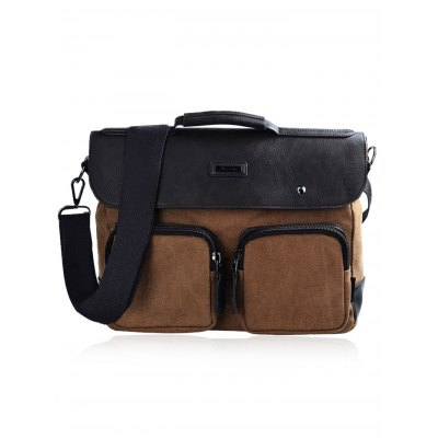 Douguyan 12.5L Sling BagMens Bags<br>Douguyan 12.5L Sling Bag<br><br>Brand: Douguyan<br>Material: Canvas,PU<br>Color: Black,Brown<br>Product weight: 0.865 kg<br>Package weight: 0.920 kg<br>Product Size(L x W x H): 36.00 x 12.00 x 29.00 cm / 14.17 x 4.72 x 11.42 inches<br>Package Size(L x W x H): 37.00 x 10.00 x 30.00 cm / 14.57 x 3.94 x 11.81 inches<br>Packing List: 1 x Douguyan Sling Bag