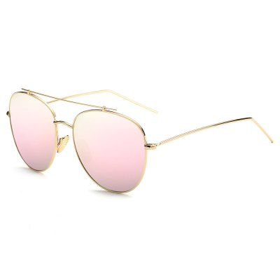 004 UV-resistant Stylish Sunglasses Goggle with PC Lens