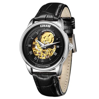 BUREI 1222 Casual Men Automatic Mechanical Watch