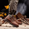 Genuine Leather Hiking Boots for sale