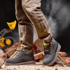 best Water-resistant Genuine Leather Fleece Lined Hiking Boots