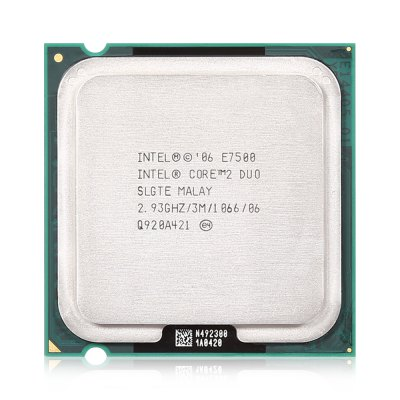 Intel Core i2 E7500 Dual-core CPU