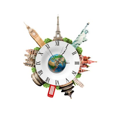 SZ - 020 3D Wall Clock Removable Sticker