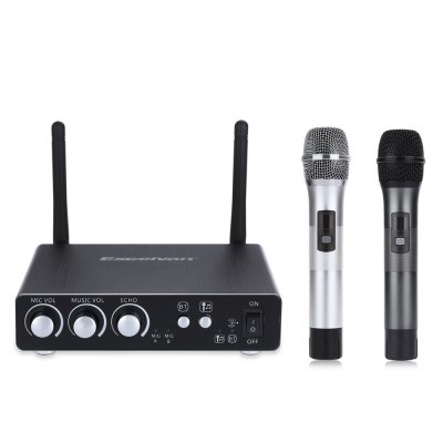 Excelvan K28 Dual Channel Transmitter Microphone