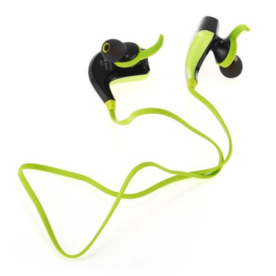 H8 Bluetooth Sport EarbudsSports &amp; Fitness Headphones<br>H8 Bluetooth Sport Earbuds<br><br>Application: Mobile phone, Sport, Portable Media Player<br>Battery Capacity(mAh): 80mAh<br>Battery Types: Built-in Li-ion battery<br>Bluetooth: Yes<br>Bluetooth Version: V4.1<br>Charging Time.: 2h<br>Compatible with: Mobile phone<br>Connectivity: Wireless<br>Frequency response: 20-20000Hz<br>Function: Noise Cancelling, Voice control, Song Switching, Answering Phone, Microphone, Bluetooth<br>Impedance: 32ohms<br>Language: English<br>Material: ABS<br>Model: H8<br>Music Time: 6h<br>Package Contents: 1 x H8 Earbuds, 1 x USB Cable, 1 x Pair of Ear Hooks, 2 x Pair of Ear Tips, 1 x Clip, 1 x English User Manual<br>Package size (L x W x H): 13.50 x 13.50 x 3.50 cm / 5.31 x 5.31 x 1.38 inches<br>Package weight: 0.088 kg<br>Product weight: 0.009 kg<br>Sensitivity: 98 dB (S.P.L at 1KHz)<br>Standby time: 120h<br>Talk time: 8h