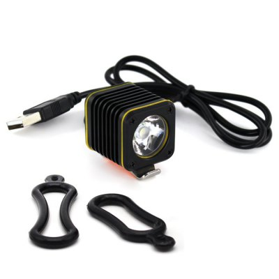 Mini 5V USB Bike HeadlightBike Lights<br>Mini 5V USB Bike Headlight<br><br>Best Use: Camping<br>Color: Black<br>Features: Superbright, Easy to Install, Waterproof, Low Power Consumption<br>LED Quantity: 1<br>Luminance: 1200<br>Material: Stainless Steel, Aluminum Alloy<br>Package Contents: 1 x Headlight, 2 x Rubber Ring<br>Package Dimension: 12.00 x 8.00 x 5.00 cm / 4.72 x 3.15 x 1.97 inches<br>Placement: Handlebar<br>Product Dimension: 3.20 x 2.80 x 2.80 cm / 1.26 x 1.1 x 1.1 inches<br>Product weight: 0.0500 kg<br>Suitable for: Touring Bicycle, Cross-Country Cycling, Electric Bicycle, Fixed Gear Bicycle, Motorcycle, Mountain Bicycle, Road Bike<br>Type: Front Light