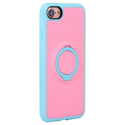 Benks Ring Holder Case ProtectoriPhone Cases/Covers<br>Benks Ring Holder Case Protector<br><br>Brand: Benks<br>Color: Blue,Gray,Pink<br>Compatible for Apple: iPhone 7<br>Features: Anti-knock, Back Cover, Cases with Stand<br>Material: TPU<br>Package Contents: 1 x Phone Case<br>Package size (L x W x H): 21.00 x 11.00 x 2.50 cm / 8.27 x 4.33 x 0.98 inches<br>Package weight: 0.074 kg<br>Product size (L x W x H): 14.20 x 7.00 x 1.00 cm / 5.59 x 2.76 x 0.39 inches<br>Product weight: 0.027 kg<br>Style: Pattern, Cool, Modern