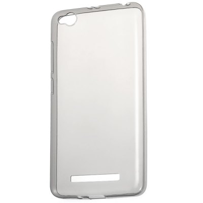 Transparent TPU Phone CaseCases &amp; Leather<br>Transparent TPU Phone Case<br><br>Color: Gray<br>Compatible Model: Redmi 4A<br>Features: Anti-knock, Back Cover<br>Mainly Compatible with: Xiaomi<br>Material: TPU<br>Package Contents: 1 x Phone Case<br>Package size (L x W x H): 21.00 x 13.00 x 2.00 cm / 8.27 x 5.12 x 0.79 inches<br>Package weight: 0.040 kg<br>Product Size(L x W x H): 14.10 x 7.20 x 1.00 cm / 5.55 x 2.83 x 0.39 inches<br>Product weight: 0.014 kg<br>Style: Transparent