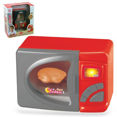Simulation Appliance Microwave Oven Housekeeping Toy