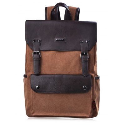 Douguyan 16.9L BackpackMens Bags<br>Douguyan 16.9L Backpack<br><br>Brand: Douguyan<br>Style: Casual<br>Material: Canvas,PU<br>Color: Black,Brown<br>Product weight: 0.930 kg<br>Package weight: 0.980 kg<br>Product Size(L x W x H): 31.00 x 13.00 x 42.00 cm / 12.2 x 5.12 x 16.54 inches<br>Package Size(L x W x H): 32.00 x 10.00 x 40.00 cm / 12.6 x 3.94 x 15.75 inches<br>Packing List: 1 x Douguyan Backpack