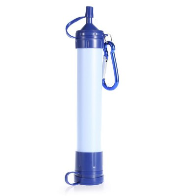 Portable Water Straw Filter Purifier Tool with Hanging Buckle