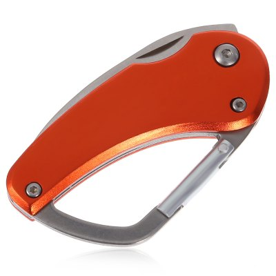 Stainless Steel 2 inch Pocket Knife CarabinerEDC Tools<br>Stainless Steel 2 inch Pocket Knife Carabiner<br><br>Best Use: Camping,Home use<br>Color: Orange<br>Functions: Knife,  carabiner,  keychain<br>Package Contents: 1 x Folding Knife Carabiner<br>Package Dimension: 12.00 x 17.00 x 1.00 cm / 4.72 x 6.69 x 0.39 inches<br>Package weight: 0.044 kg<br>Product Dimension: 11.40 x 3.50 x 0.60 cm / 4.49 x 1.38 x 0.24 inches<br>Product weight: 0.034 kg