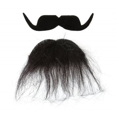 Self-adhesive Mustache + Earring Set for Party