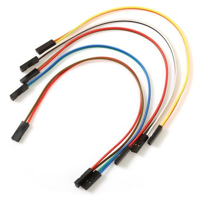 5PCS Female to Female 2 Pin Jumper Cable for Arduino