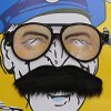 best Self-adhesive Mustache + Eye Glasses Set for Party