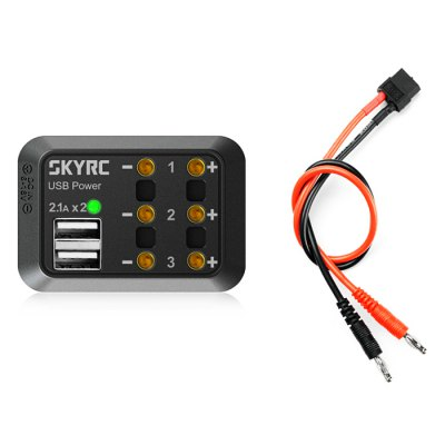 SKYRC 1-for-3 Mini DC Power Distributor